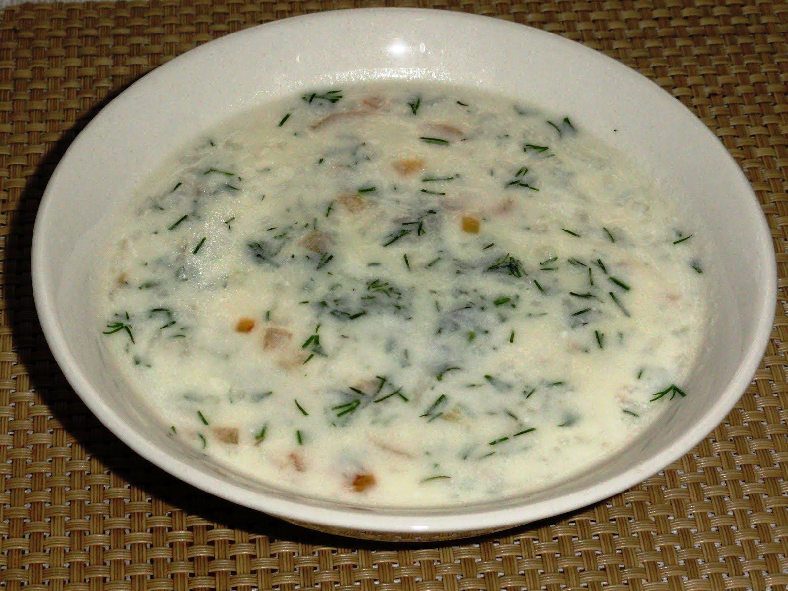 Суп из мацони