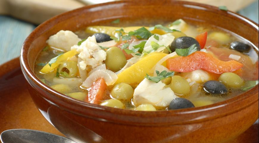 Греческий рыбный суп