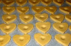 Песочное печенье с сырным кремом