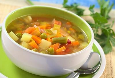 Обычный суп из фасоли