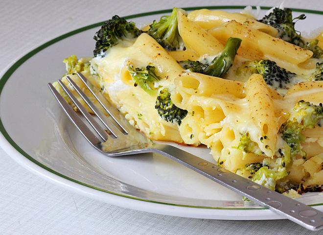Рецепт пасты под молочно-сырным соусом
