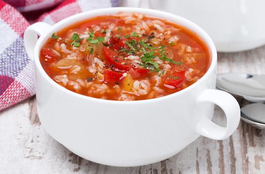 Как приготовить вкусный суп из риса?
