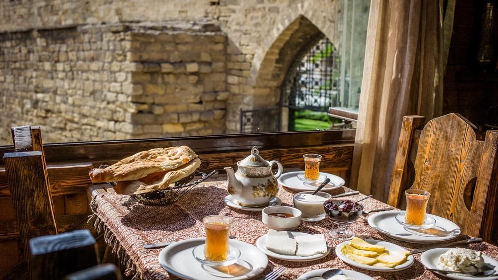 Азербайджанский завтрак