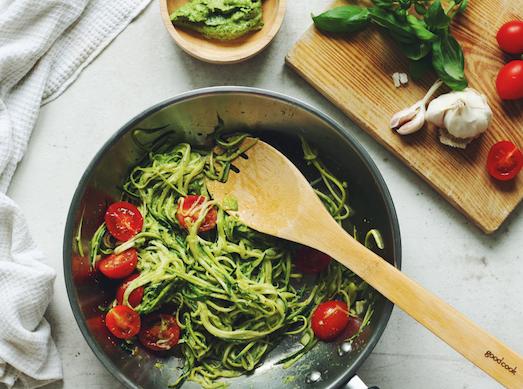 Секреты приготовления овощных спагетти