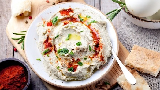 Бабагануш — оригинальное блюдо для гурманов