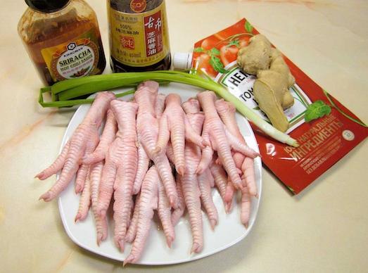 Яркие и необычные блюда из куриных лапок