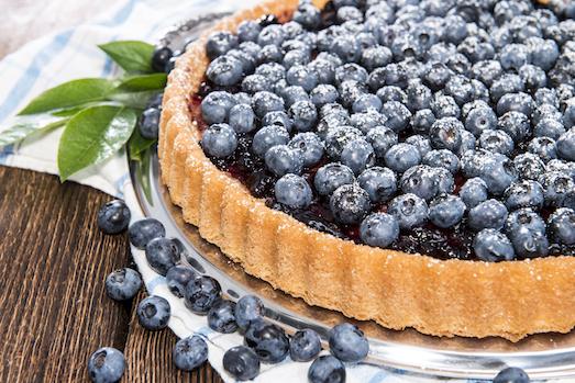 Черничный пирог — секреты, рецепты