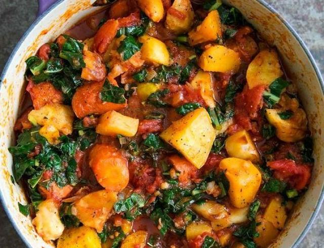 Вкусный и простой рецепт рагу с картошкой