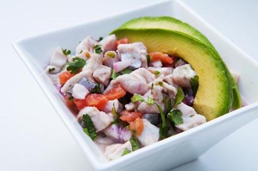 Рецепт салата из камбалы