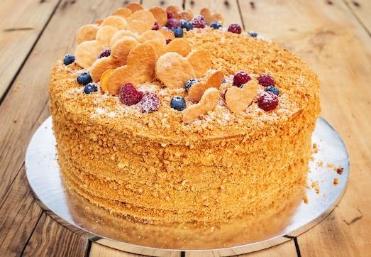 Рыжик — вкусный торт для торжества
