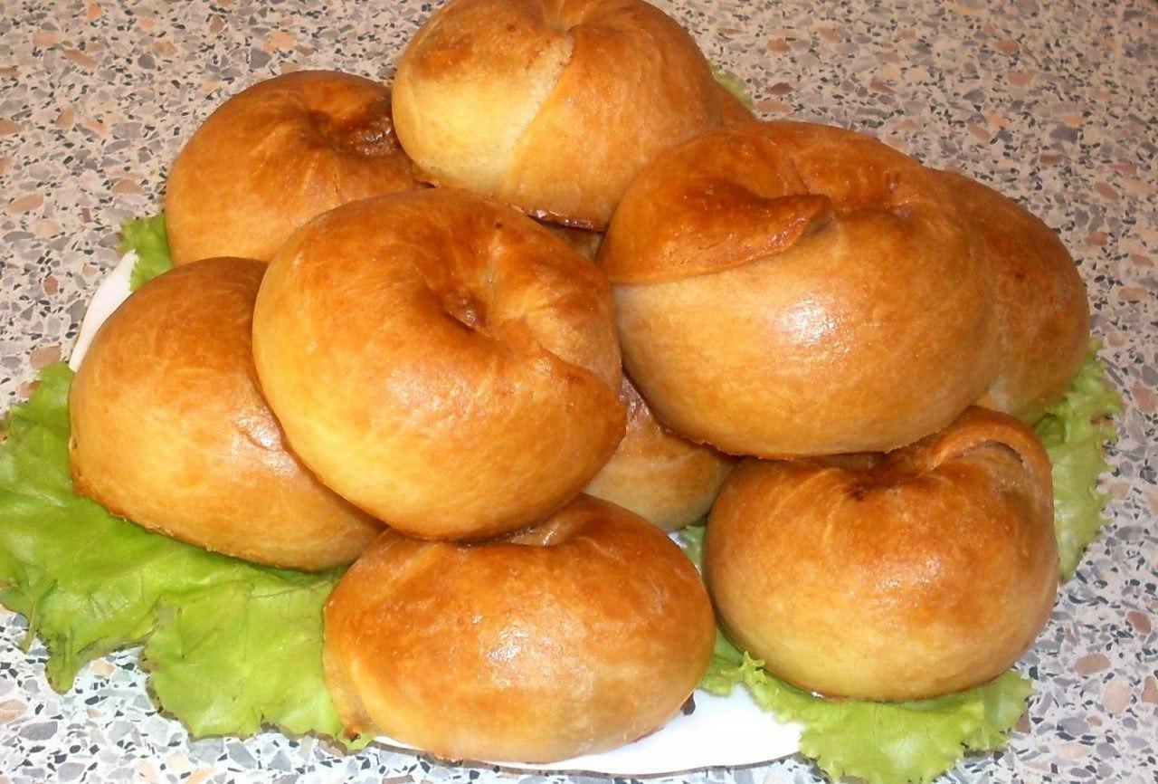 Пирожки с груздями духовые по «бабушкиному» рецепту