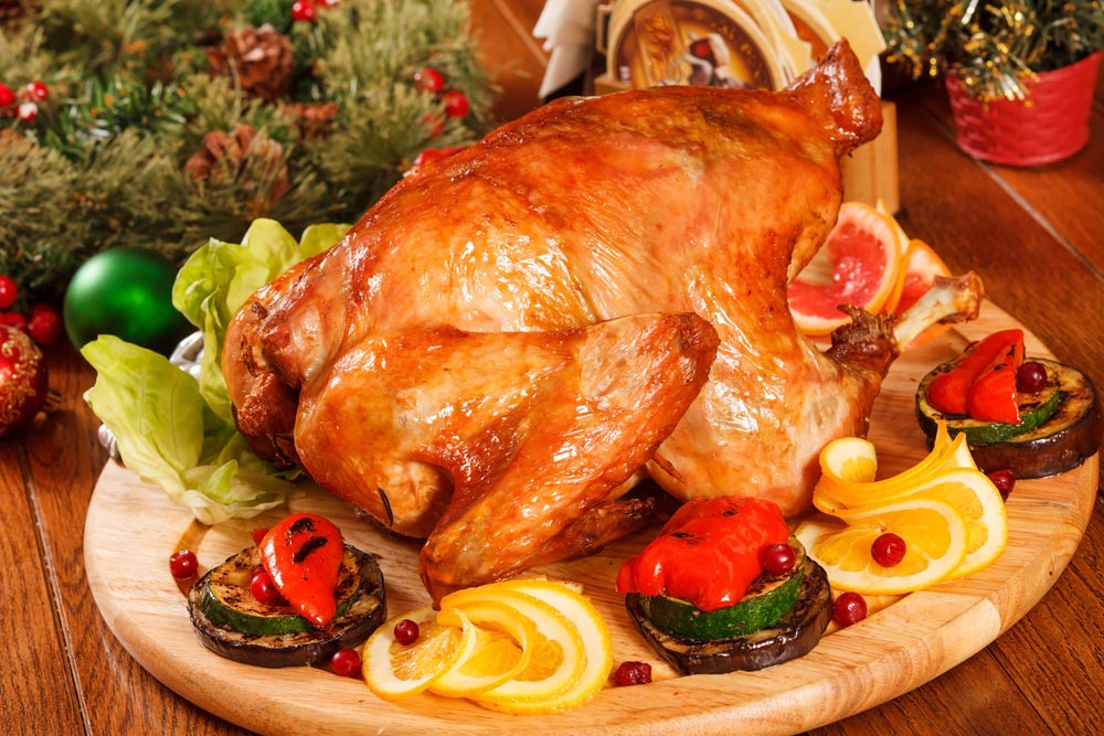 Приготовить индейку как на День благодарения