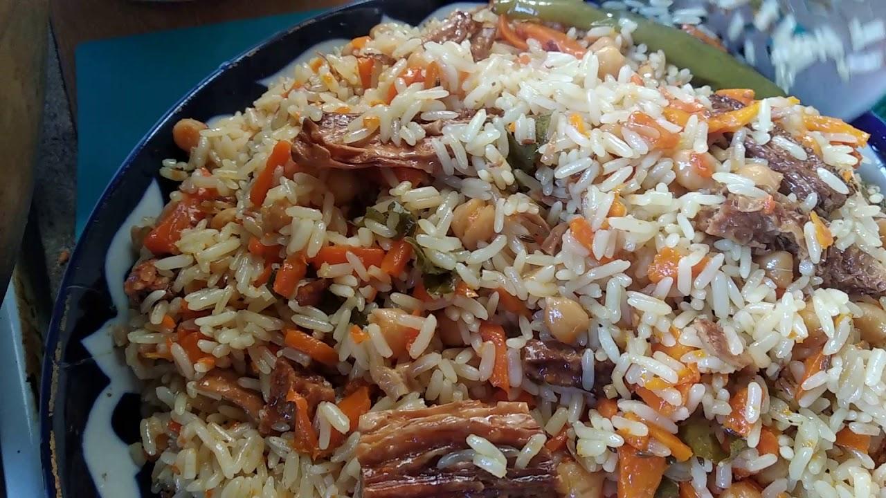 Кашмирский плов – вегетарианская кухня