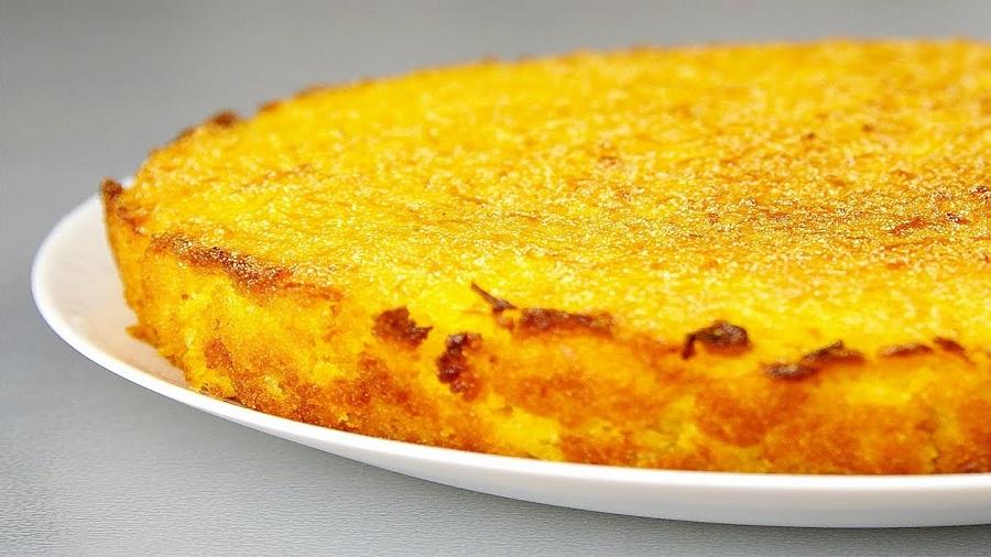 Тыквенный пирог без масла
