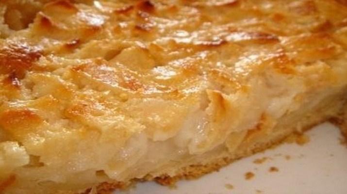 Яблочный пирог «Невидимый», который тает во рту
