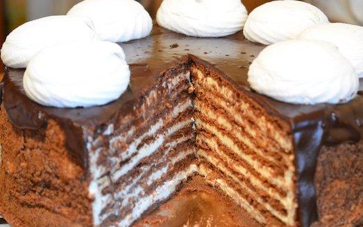 Как вкусно приготовить торт Спартак?