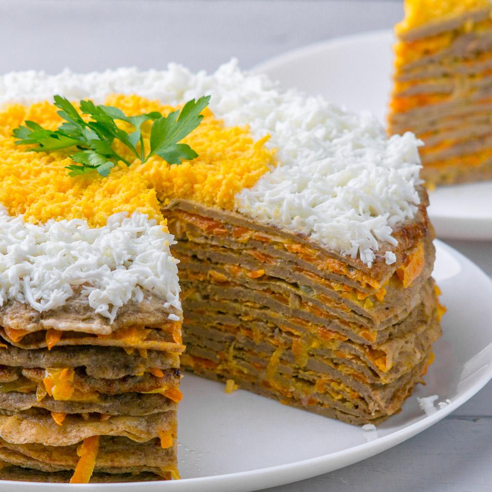 Торт печеночный «Очередной»