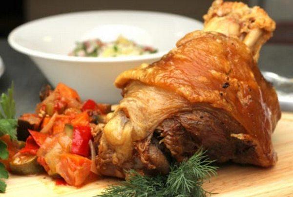 Свиная рулька «Хаскл» в духовке