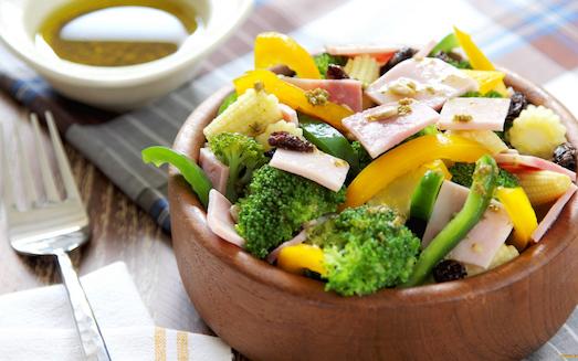 «Простой» салат из спаржи