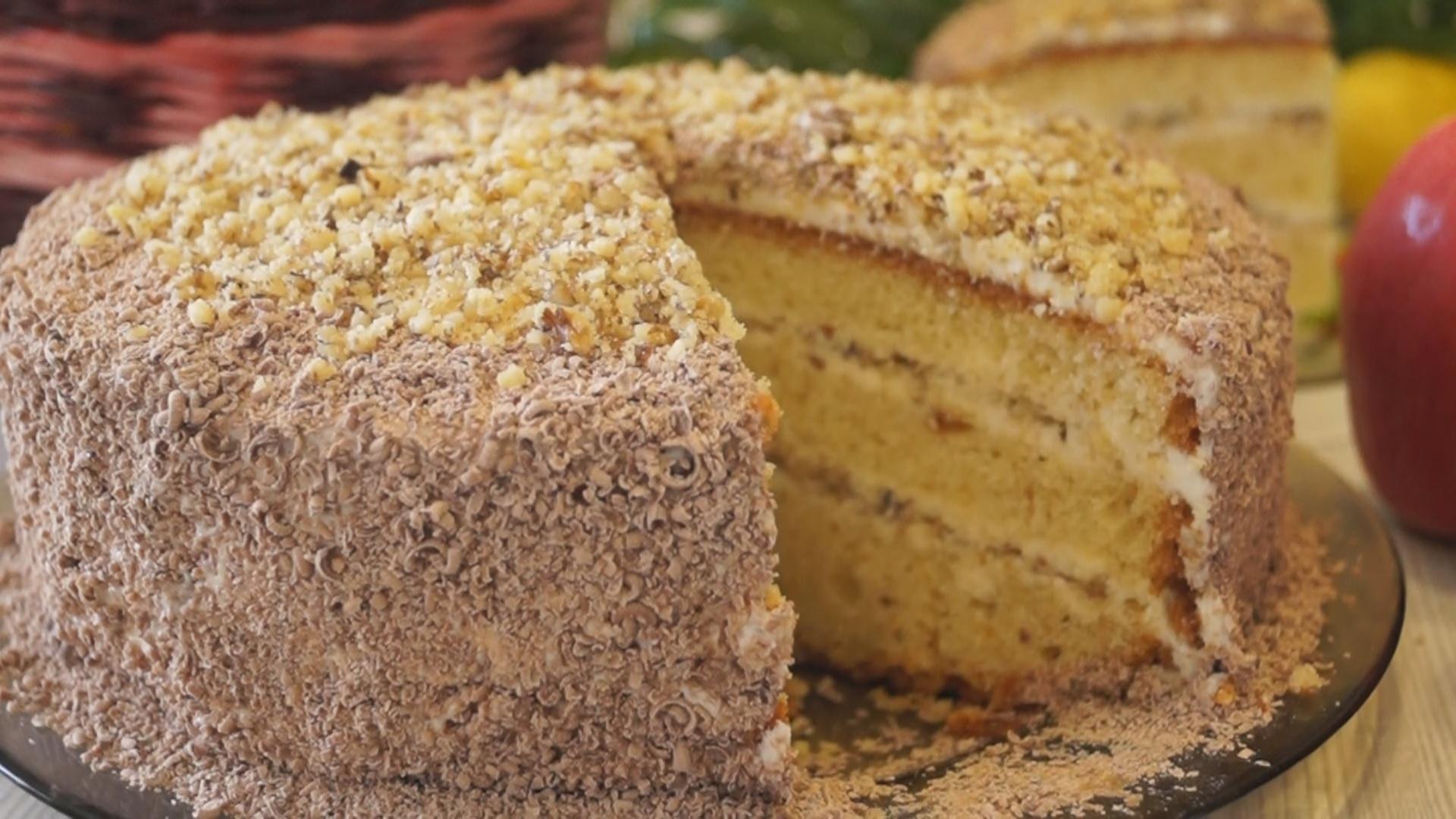 Простой и вкусный торт «Сметанник»