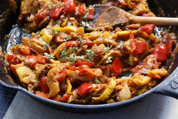 Вкусное и простое овощное рагу