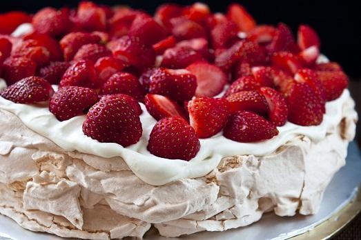 Как приготовить настоящий торт Павловой?
