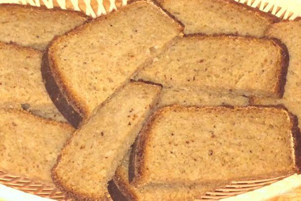Пшенично-амарантовый хлеб