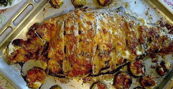 Рыба, фаршированная гречневой кашей