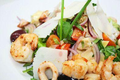 Салат с морепродуктами «Морские сокровища»