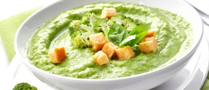 Суп из авокадо с крабом