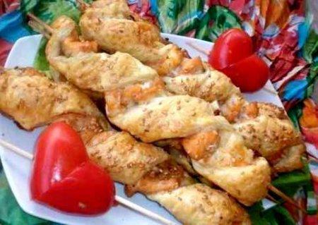 Рыбные шашлычки «Удовольствие»
