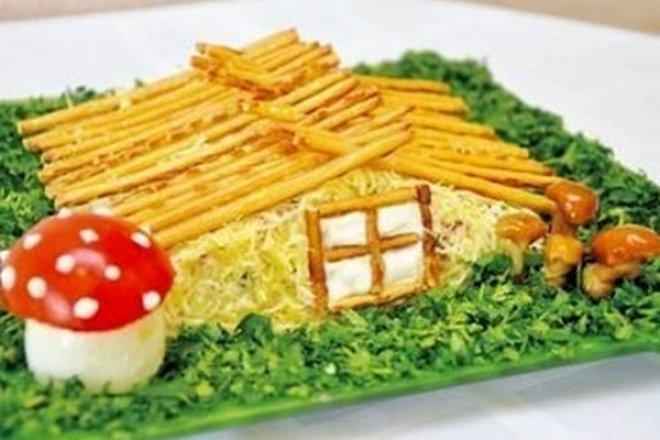 Красивый салат на праздник