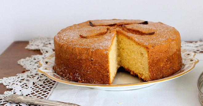 Рецепт манника на кефире в духовке — вкусный, пышный мягкий пирог