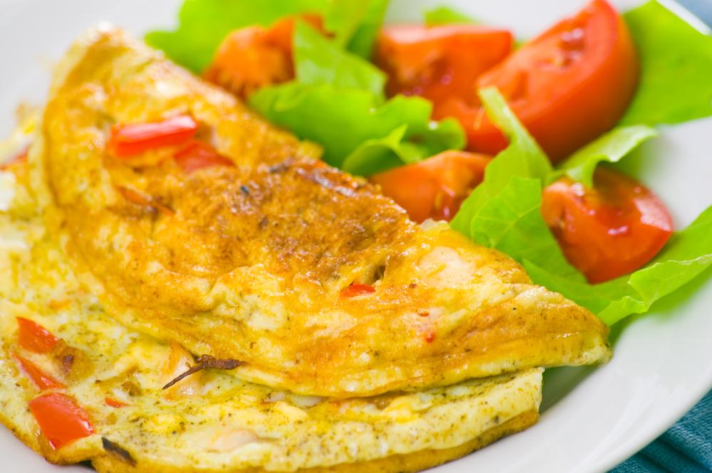 Вегетарианский омлет без яиц