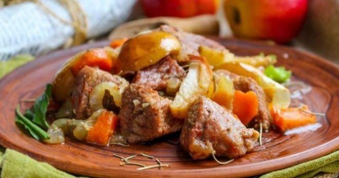 Тушеное мясо – как приготовить с подливкой