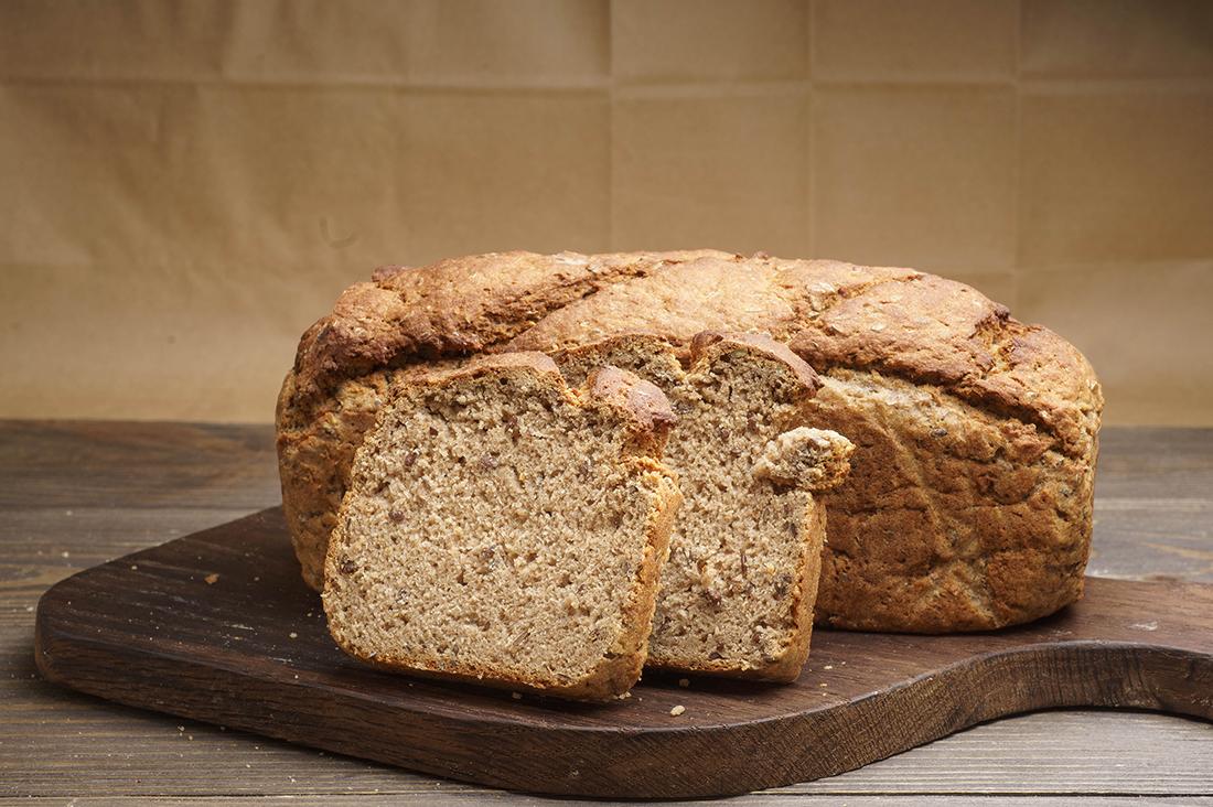 Кукурузно-полбяной хлеб