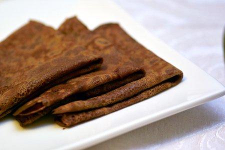 Шоколадные блинчики рецепт