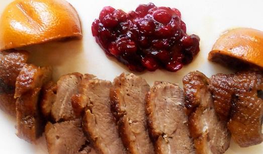 Рецепт утки с медом и апельсинами