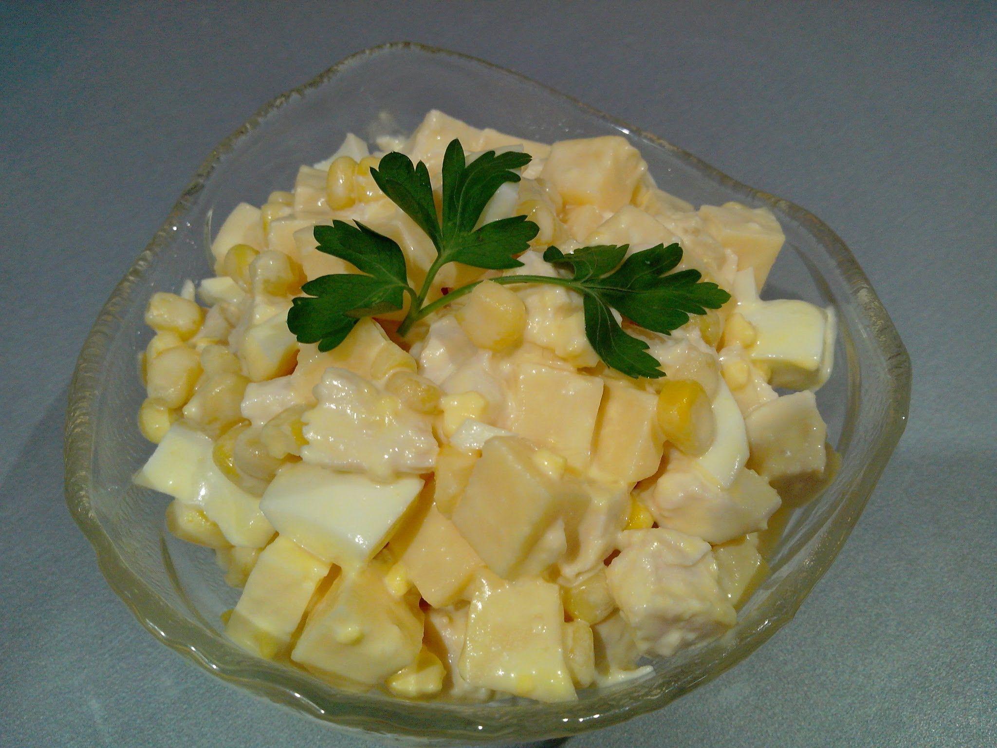 Салат ананасовый