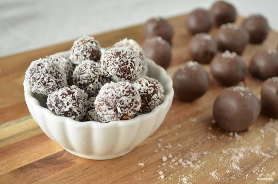 Десерт Нутовые бомбочки