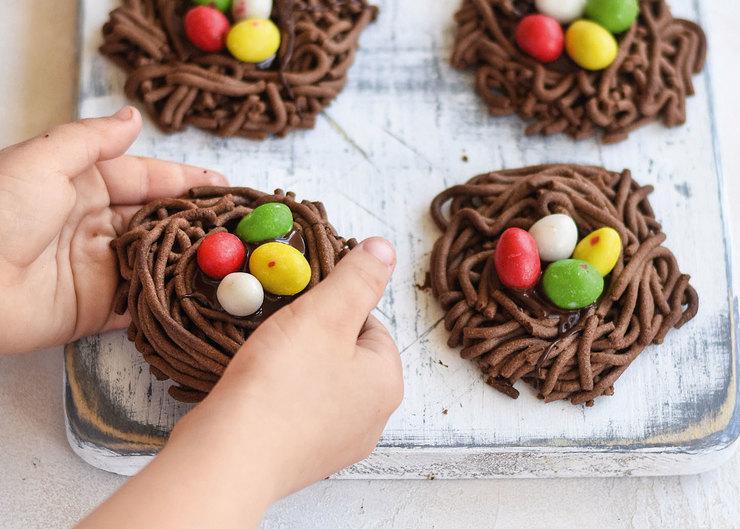 Рецепт печенья «Гнезда»