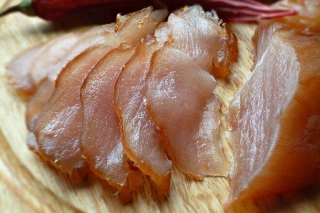 Карпаччо из куриного филе по-домашнему
