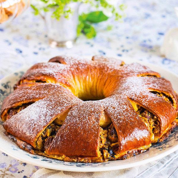 Пасхальный хлеб по рецепту Юлии Высоцкой