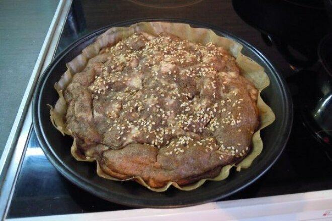 Куриный хлеб на льняном семени