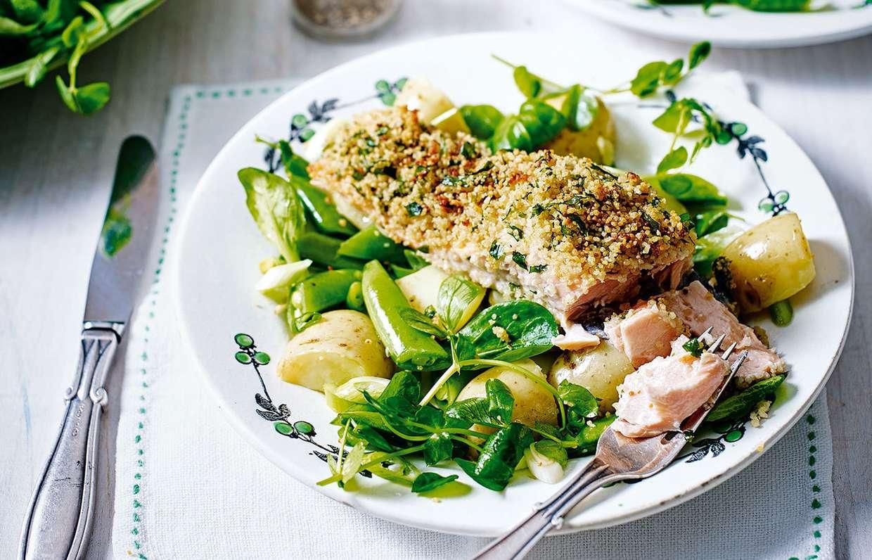 Рецепт рыбы с кускусом