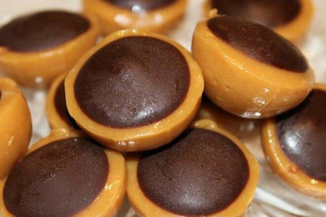 Домашние конфеты Тоффи с фундуком