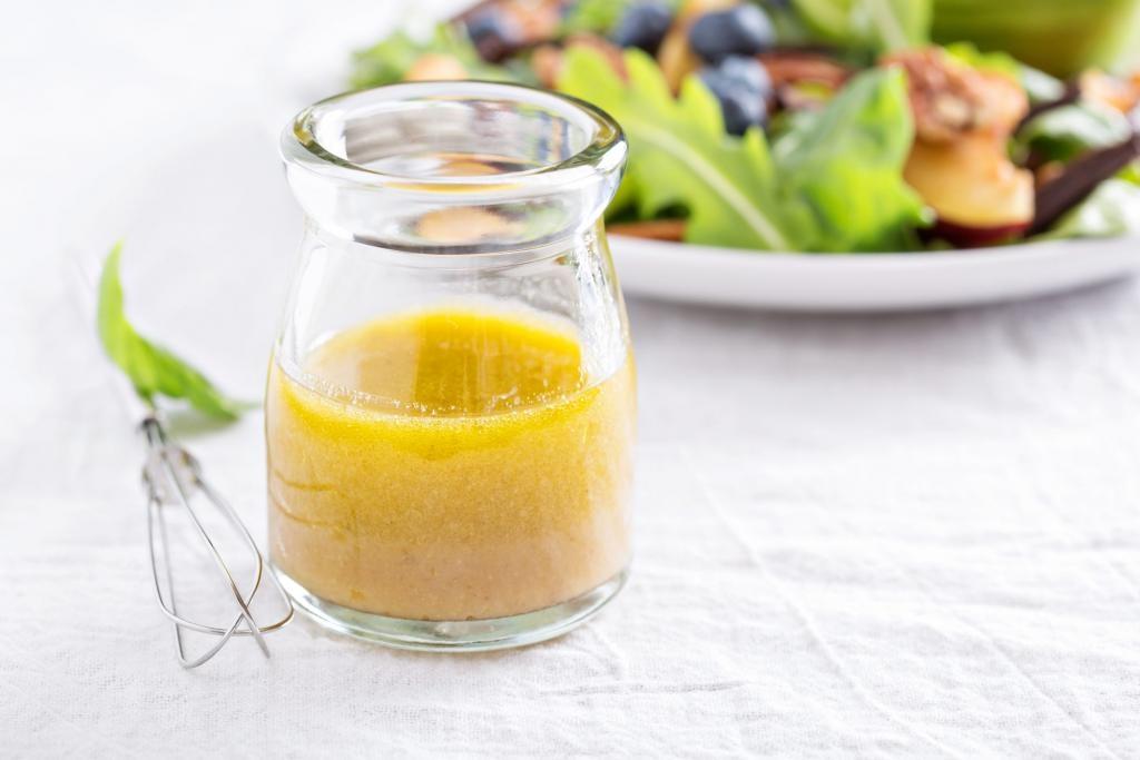 Заправка с лимоном и медом