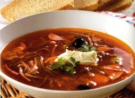 Холодные супы для похудени