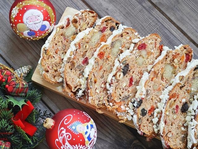 Традиционный рождественский кекс