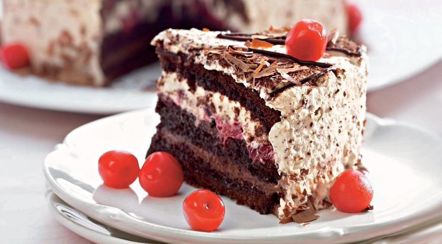 Как приготовить идеальный шоколадный торт с вишней